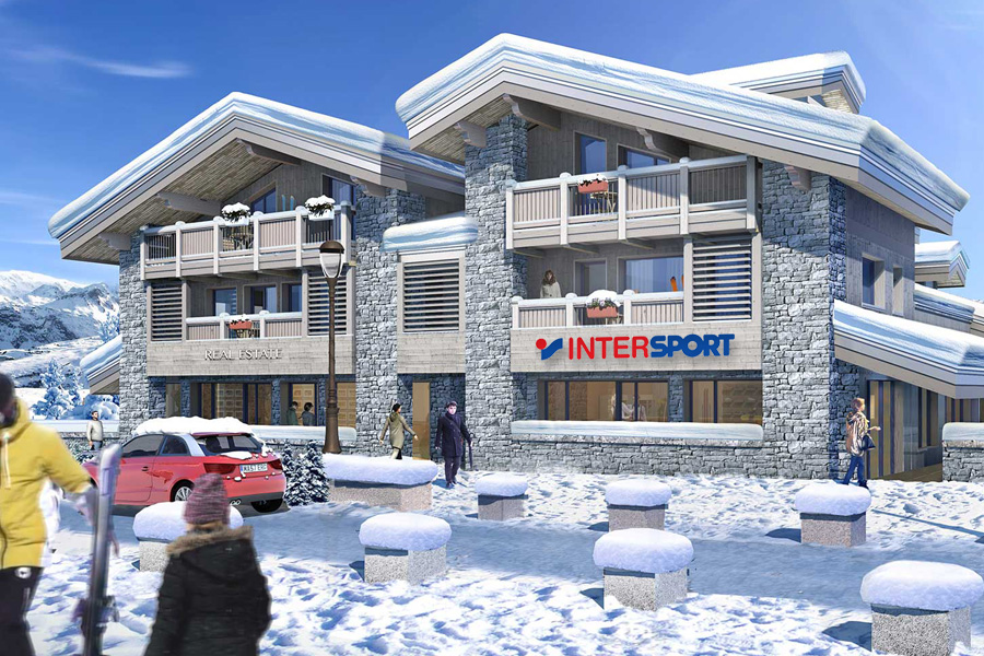 Location de ski Courchevel 1550 Intersport